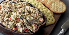 Chicken spread with roasted veggies - Everyday Dishes & DIY