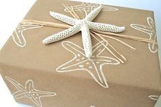 Wrapping Paper  Gift Paper  Hand Printed door everydaysaholiday, $15.00