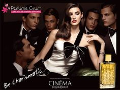 Its scent possesses a blend of White Peony, Mimosa, Cyclamen, Tangerine, Jasmine.Entice everybody with CINEMA.