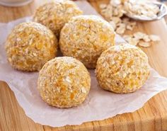 Full Body Cleanse Approved™ Halloween Pumpkin Pie Powerballs - Dherbs - The Best All Natural Herbal Remedies & Products Breakfast Bites, Breakfast On The Go, Raw Food Recipes, Sweet Recipes, Powerballs Recipe, Full Body Cleanse, Bolo Fit, Cleanse Recipes, No Bake Treats
