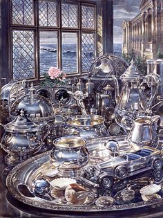 John Stephens study in silver