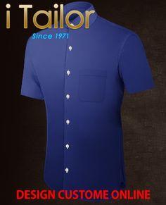 Design Custom Shirt 3D $19.95 overhemden op maat Click http://itailor.nl