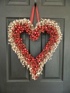 rotes-Herz-Weihnachtskranz