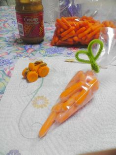 #Healthy Lunch Snack #Carrot Car and CARROT for classroom Easter Snack?