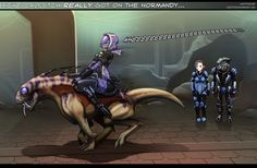 Mass Effect: Scale Itch by *ghostfire on deviantART