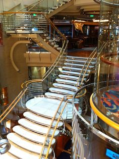 Royal Caribbean International - Adventure of the Seas, The Stairs