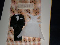 Bride and Groom on Cover Wedding Card by giftcardsbynlo on Etsy, $4.95