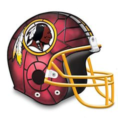 Cool Redskins Football Helmet Lamp