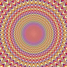 Illusioni ottiche da capogiro - #static #movement