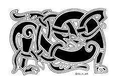 Viking Ornament, Ornaments Design, Viking Age, Art Portfolio, Vikings, My Arts, Darth Vader, Create, Drawings