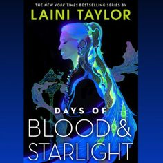 "Laini Taylor on Instagram: ""And here is the new cover for book 2, Days of Blood & Starlight ❤️❤️❤️, art by @blackgoldsun"""