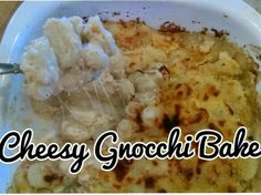 Pers~ a~Natalie: Cheesy Gnocchi Bake