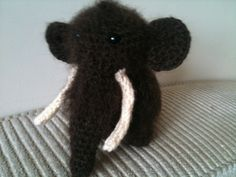 Wooly Mammoth free crochet Pattern http://justaddawesome.tumblr.com/post/23348143418/wooly-mammoth-pattern-inspired-by-the-mammoths-of