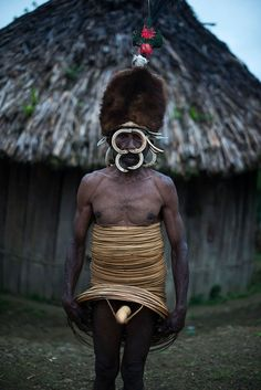 Man from the Yali tribe.