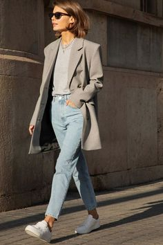 Chic Ways to Wear the Athleisure Trend - Outfitting Ideas Mode Outfits, Casual Outfits, Fashion Outfits, Fashion Trends, Tan Blazer Outfits, Fashion Hacks, Hijab Fashion, Fashion Ideas, Looks Street Style