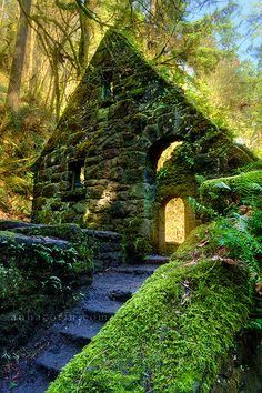 The Stone House  Portland, Oregon.