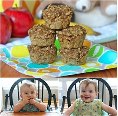 Baby food muffins - definitely going to try this. And freeze a batch.