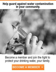 Protect your drinking water