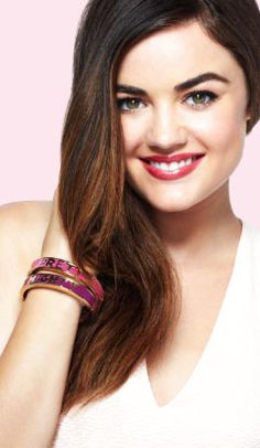 Lucy Hale's Fave mark Picks - The empowernment bracelets - proceeds go to the foundation   http://www.youravon.srudek