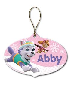 Celebrate the season with this adorable ornament featuring Skye and Everest from the ever-popular PAW Patrol. Add the name of your PAW Patrol fan to this personalized ornament for a special surprise. Personalized Ornaments, Personalized Christmas Ornaments, Handmade Christmas, Christmas Ideas, Christmas Time, Christmas Decor, Paw Patrol Halloween Costume, Paw Patrol Costume, Rubble Paw Patrol