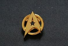 Star Trek Communication Badges Star Trek Brooch @ niftywarehouse.com #NiftyWarehouse #StarTrek #Trekkie #Geek #Nerd #Products