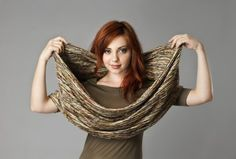 Large snood on Ethical Ocean - perfect for fall! $78 on Ethical Ocean. #snood