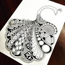694 best Mandalas images in peacock mandala drawing collection - ClipartXtras Doodle Paint, Doodle Art Drawing, Zentangle Drawings, Pencil Art Drawings, Doodles Zentangles, Pencil Sketches Easy, Mandalas Painting, Mandalas Drawing, Peacock Painting