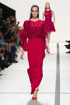Fashion | Female | Colourful | Elie Saab Ready To Wear Spring Summer 2014 Collection