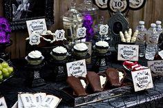 ホーンテッドマンションハロウィンパーティー - ハロウィーンのPrintables&パーティーのアイデア - カラのパーティのアイデア - すべての観光名所パーティーのための場所