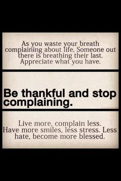 <3 GREAT reminder to live and appreciate. Stop taking for granted.