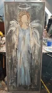 Untitled art for men Pin by Alicia Rock on Angels Tole Painting, Painting On Wood, Painting & Drawing, Christmas Angels, Christmas Art, Angel Crafts, Pallet Art, Christmas Paintings, Angel Art