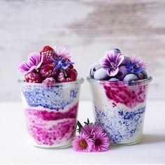 "170 Likes, 14 Comments - Silvia Cecco (@scecco_food.for.thought) on Instagram: ""Beautiful Soy Yogurt and Frosted Berries jars by the equally beautiful Katja of…"""
