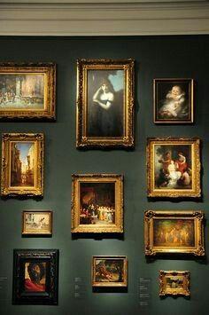 salon style art hanging - Google Search | Salon Style | Pinterest ...