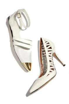 White hot footwear!