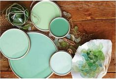 Sea glass color...