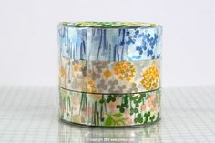 Pretty Little Garden Floral Washi Japanese Tape $3.50