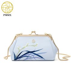 Aliexpress.com : Buy PMSIX 2017 New Vintage Embroidery Womens Leather Shoulder Bag Metal Clasp Small Chain Bag Evening Clutch Bag 220063 from Reliable evening clutch bags suppliers on Pmsix Official Store