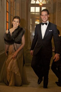 Prince Felix of Luxembourg & fiancèe Claire Lademarcher
