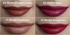 Jesenné odtiene rúžu Jordana Modern Matte Lipstick.