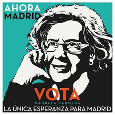 Madrid con Manuela​ : un ejército de ilustradores y creativos se movilizan por Manuela Carmena​ / @Yorokobu​Mag | #socialdesign Social Design, Tumblr, Movie Posters, Fictional Characters, Image, Madrid, Marketing, The World, Political Posters