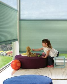Duette® honeycomb shades with LiteRise®