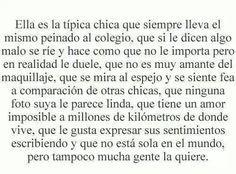 "Que sad :""v . Sad Quotes, Love Quotes, Qoutes, Inspirational Quotes, Happy Quotes, Words Can Hurt, Love Phrases, Sad Love, Spanish Quotes"