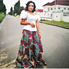 Ankara Skirt #ankarastyles #nollywood #asoebibella #fashion #ankaracollections