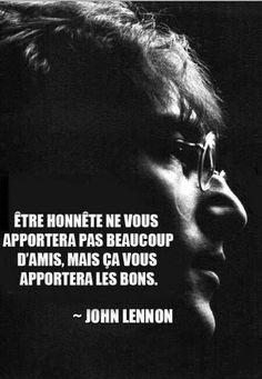 John Lennon , au sujet de l'honnêteté - http://www.bengarneau.com/2014/07/john-lennon-au-sujet-de-l-honnetete.html