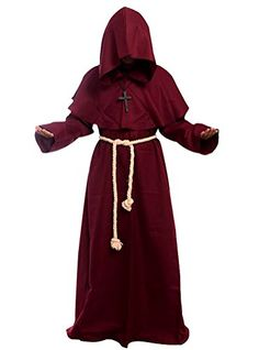 Cos2be Costume For The Medieval Monks Robe Various Styles (X-Small 35bcd936f