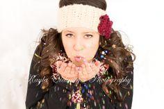 Kayla Eickmeyer Photography :: Menominee MI Senior Photographer :: studio :; sparkles :: confetti :: senior girl portraits :: studio