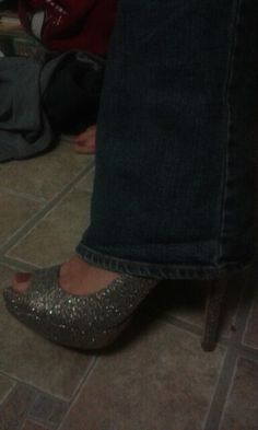 my sparkly shoes