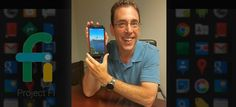 Clark Howard with his Google Nexus 6 phone Google new $20/month cell phone
