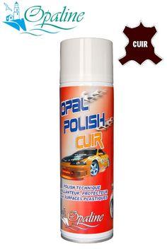 Rénovateur plastiques parfum cuir brillant - nettoyant tableau de bord parfumé - accessoire auto - polish plastique- produit entretien auto