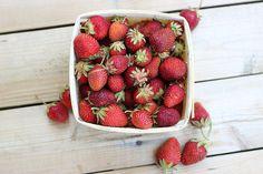 Roasted Balsamic Strawberry Mini-Tarts with Whipped Coconut Cream – Gluten-free   Vegan